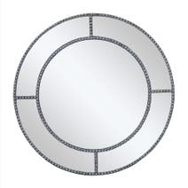 Diamante Round Mirror