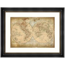 Dorma Antique Map Framed Print