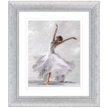Dorma Elegant Dancer Framed Print
