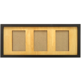 Elements Wood 3 Aperture Photo Frame