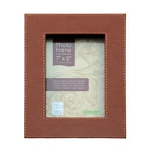 Global Fusion Faux Leather Photo Frame