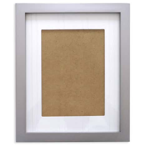 Grey Purity Wooden Photo Frame