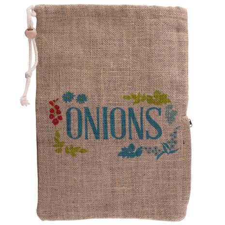 Country Fayre Hessian Onion Bag