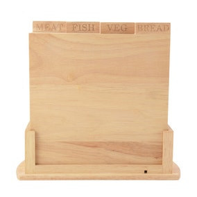 Country Fayre Wooden Chopping Boards With Stand