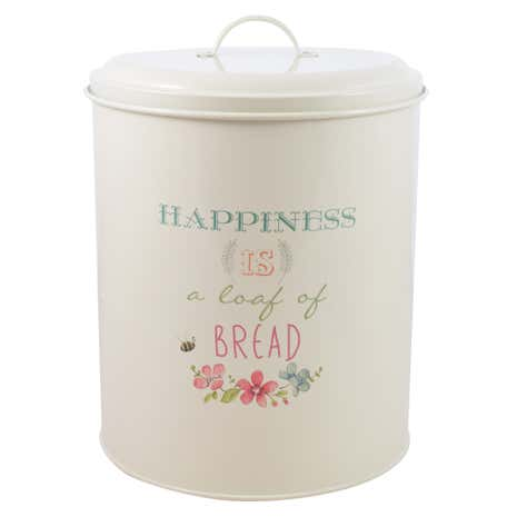 Country Happiness Bread Bin