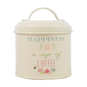 Country Happiness Coffee Tin
