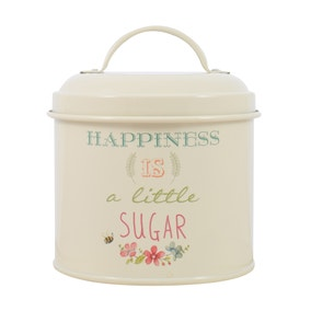 Country Happiness Sugar Tin