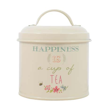 Country Happiness Tea Tin