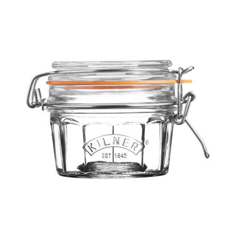 Kilner Faceted Clip Jar