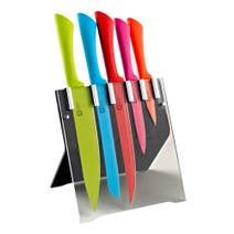 Richardson Sheffield Love Colour 5 Piece Knife Block