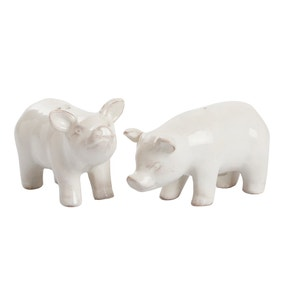 Pigs Salt and Pepper Mill Set