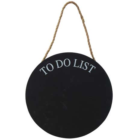 Simplicity Chalkboard To Do List