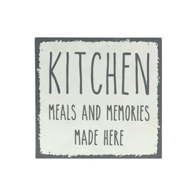 Simplicity Kitchen Memories Sign