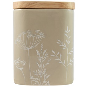 Simplicity Large Cow Parsley Canister