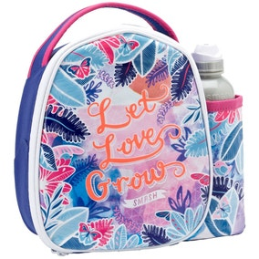 Smash Flourish Lunch Bag and Bottle Set
