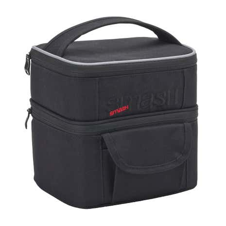 Smash Black Cube Lunch Bag