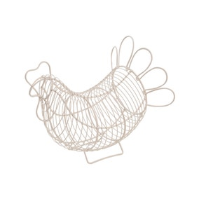T&G Provence Wire Chicken Egg Holder