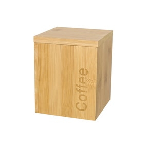 Bamboo Wooden Coffee Canister