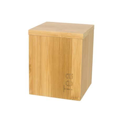 Bamboo Wooden Tea Canister