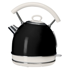 Candy Rose 1.7L Black Kettle