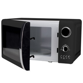 Candy Rose 700W Black 20L Microwave