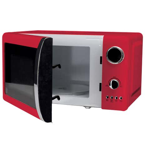Candy Rose 700W Red 20L Microwave
