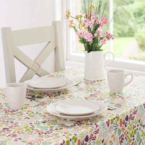 Country Fayre Vegetable PVC Tablecloth