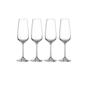 Dorma Set of 4 Cambridge Flutes