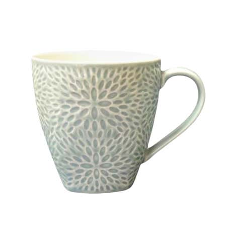 Embossed Flowerburst Mug