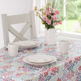 Flower Show PVC Tablecloth