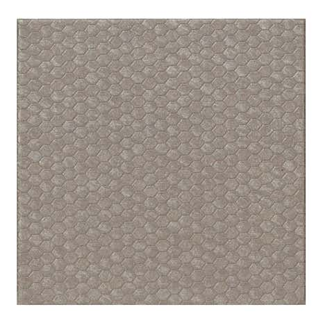 Set of 4 Honeycomb Metallic Grey Coasters