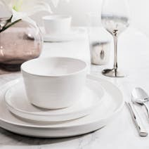 Hotel Canterbury White 16 Piece Dinner Set