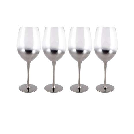 4 Pack Hotel Ombre Red Wine Glass