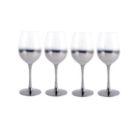 4 Pack Hotel Ombre White Wine Glass