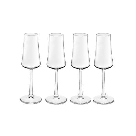 Pausa Novum Set of 4 Flute Glasses