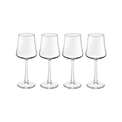 Pausa Novum Set of 4 White Wine Glasses