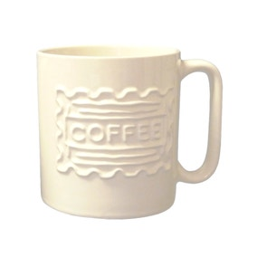 Utility Embossed Coffee Mug