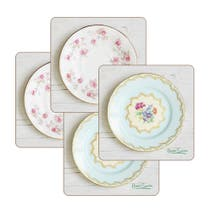 Set of Four Vintage Coasters