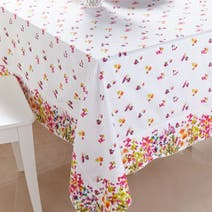 Watercolour Floral Table Cloth