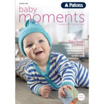 Patons Baby Moments Knitting Book 001