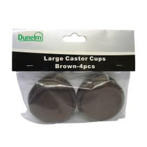 Pack of 4 Large Castor Cups