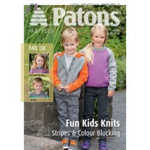 Patons Kids Fun Stripe Sweaters Knitting Book 3937