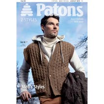 Patons Men's Styles Knitting Book 3874