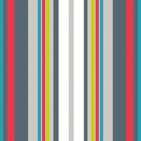 Stripey PVC Fabric