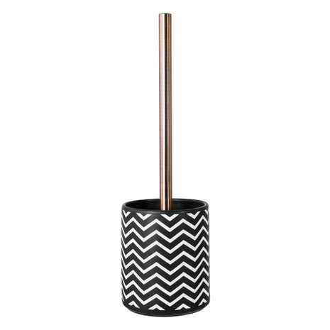 Global Fusion Sandblasted Toilet Brush Holder