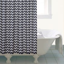 Global Zig Zag Shower Curtain