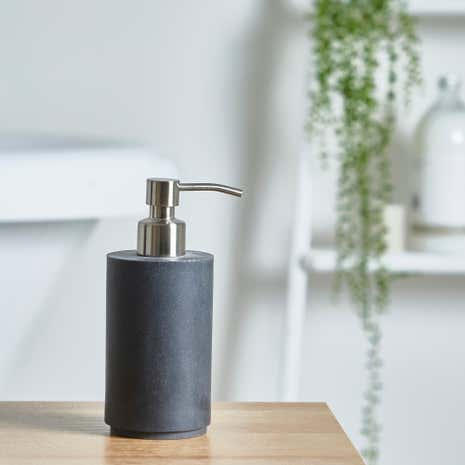 Grey Resin Lotion Dispenser
