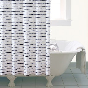 New Purity Dot Shower Curtain