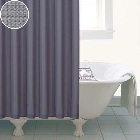 Waffle Shower Curtain | Dunelm