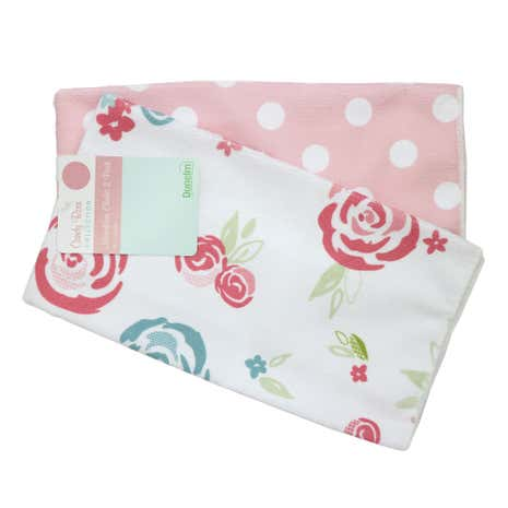 Candy Rose Microfibre Cloths